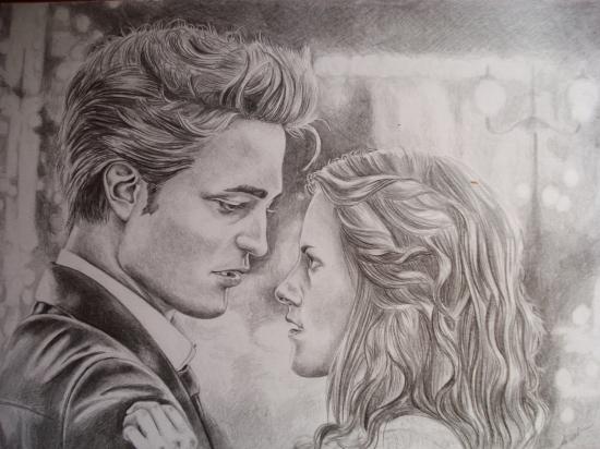 Kristen Stewart, Robert Pattinson by liisteesalu
